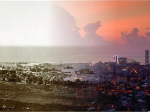 Batumi. General view