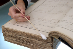 More than 20 000 papers were Restored at the Laboratory of Restoration in 2019