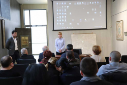 Students hold a Presentation on the Subject of the First Republic