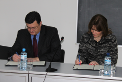 Memorandum was Concluded Between the National Archives and Tbilisi State University