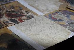 ხელნაწერის მინიატურის რესტავრაციისას მე-17 საუკუნის საბუთის დედანი აღმოაჩინეს