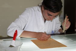 Laboratory of Restoration has renewed more than 6000 papers during the 3 months