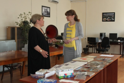 Singer Ana Bajiashvili transferred her own Collection to the National Archives