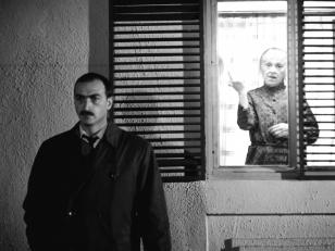 """მსახიობი გეიდარ ფალავანდიშვილი გივის როლში კინოფილმიდან ''ფერისცვალება''. 1958 წ.  <br> Actor Geidar Phalavandishvili in the role of Givi in the film """"Pheristsvaleba"""", 1958."""
