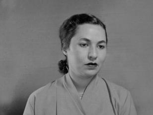 თამარ თაქთაქიშვილი - მომღერალი, საქართველოს სახალხო არტისტი. 1956 წ. <br>