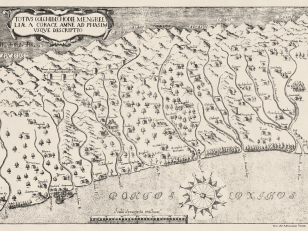 Map of Kolkheti 1913 (first edition in 1654). Author: Arcangelo Lamberti