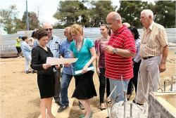 იუსტიციის მინისტრმა რუსთავში რეგიონული არქივის მშენებლობა დაათვალიერა