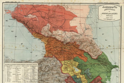 Caucasus Maps of the National Archives in the Internet Space