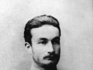 პირველი კურსის სტუდენტი, ივანე ჯავახიშვილი. 1895 წლის სექტემბერი