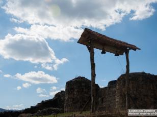 დმანისი. სამრეკლო. ფოტო: გიორგი კაკაბაძე. 2015 წელი<br>Dmanisi. Chapel. Photo by Giorgi Kakabadze. 2015
