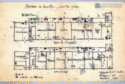 The Plan of Chateau Leuville, 1921 – Weekly Document