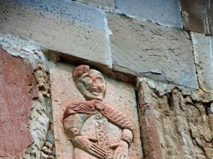 მამაკაცის ქტიტორული რელიეფური ქანდაკება, დასავლეთი ფასადი<br>Ktitor relief sculpture of a man, west facade