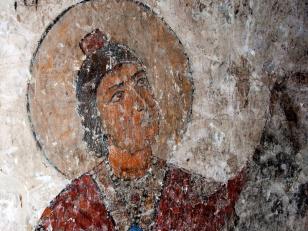 დანიელ წინასწარმეტყველი, დეტალი, დასავლეთ მკლავის სამხრეთი კალთის ქვედა რეგისტრი<br>Daniel prophet, detail. Lower-case of south slope