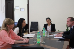 The Representative of UNESCO Memory of the World Programme visited the National Archives