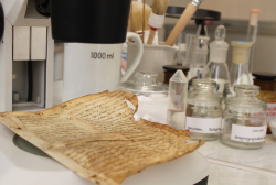 The Laboratory of Restoration Summed up the Results of One year work