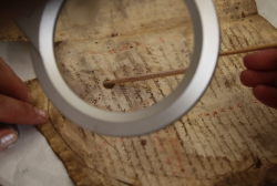Laboratory of Restoration proceeds with the Restoration of the Old Documents