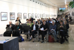 The Evening Dedicated to Guram Sharadze in the Exhibition Pavilion of the National Archives of Georgia