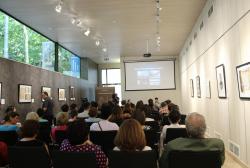 ჯილიან ევისონის საჯარო ლექცია უორდროპების კოლექციის შესახებ