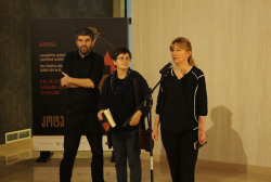 The Exhibition dedicated to Kote Mikaberidze at the National Archives Exhibition Pavilion