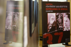 """""""Repressions in Georgia"""" was opened today at the Exhibition Pavilion of the National Archives"""