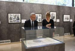 Ambassador of Ukraine visited Exhibition Pavilion of the National Archives of Georgia
