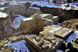 ახალციხეში არქივის შენობის სამშენებლო სამუშაოებისას მე-18-მე-19 საუკუნეების შენობის არქეოლოგიური ნაშთები აღმოჩნდა
