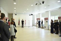 ვილნიუსში პირველი რესპუბლიკის საიუბილეო გამოფენა გაიხსნა