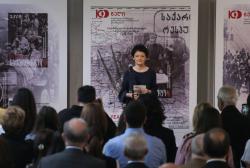 საქართველოს დამოუკიდებლობის 100 წლის იუბილესადმი მიძღვნილი საფოსტო მარკების  წარდგენა