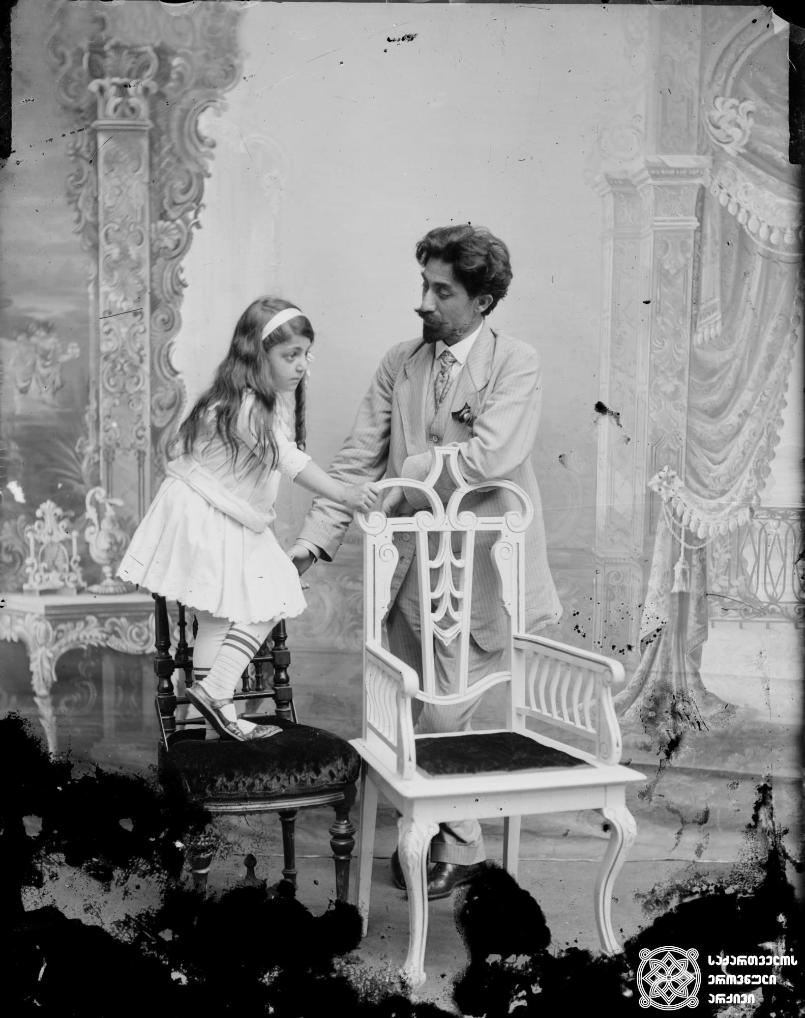 მწერალი იროდიონ ევდოშვილი (1873-1916). <br>. მინის ნეგატივი 12X16. <br> Writer Irodion Evdoshvili (1873-1916). <br>. Glass negative 12X16. <br>