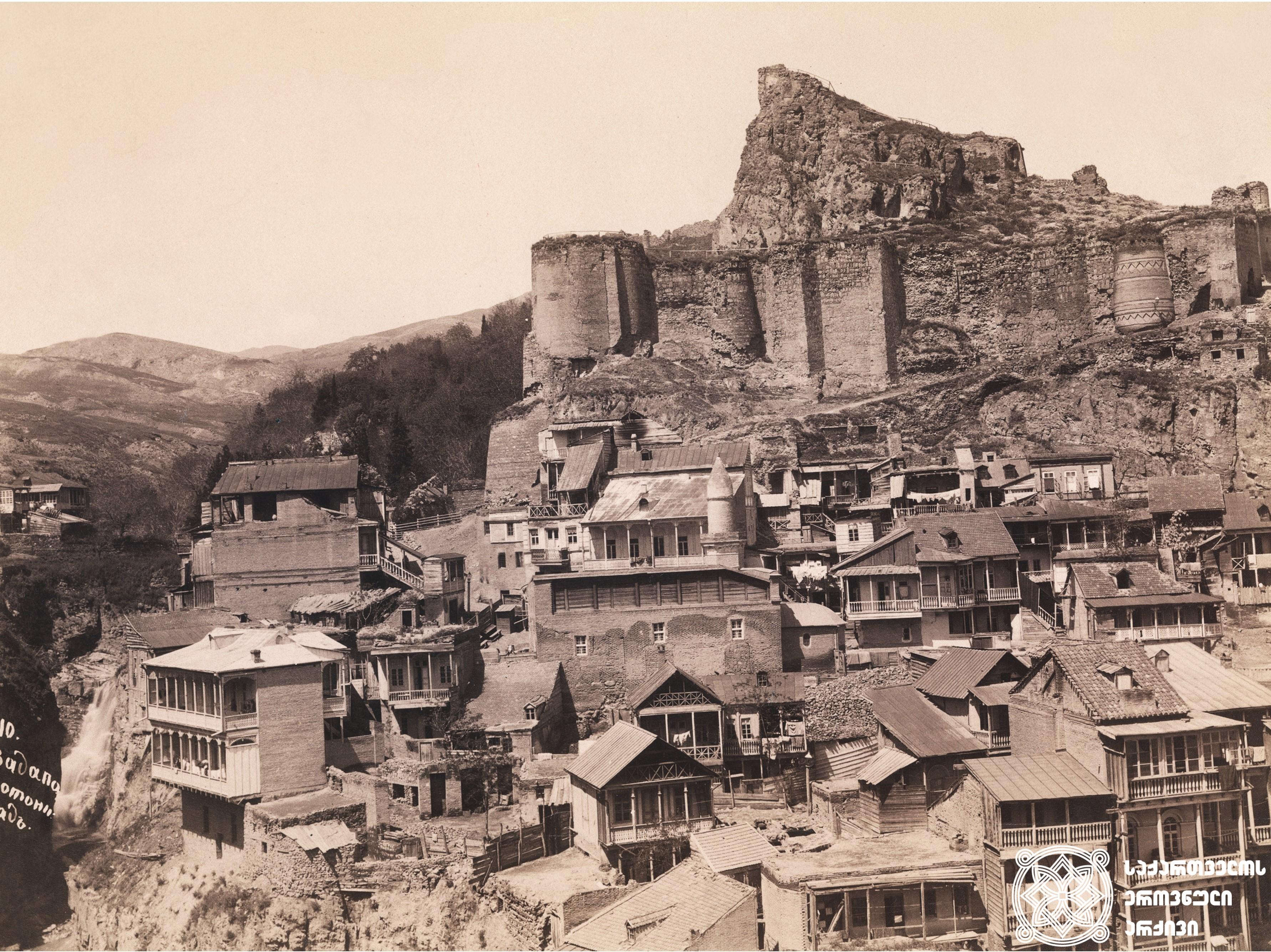 თბილისი ბერტას ვიზიტის დროს <br> გეორგ ჰამანის კოლექციიდან<br> Tbilisi during Bertha's visit<br> From the collection of Georg Hamann